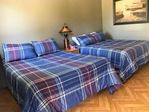 Chambre familiale au Motel de l'Anse