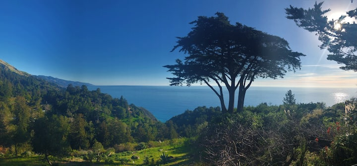 5 acres pool/spa, walk to all Big Sur has to offer