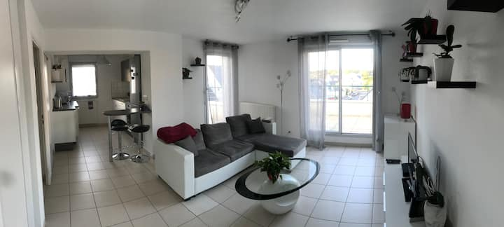 Appartement agréable, calme et lumineux
