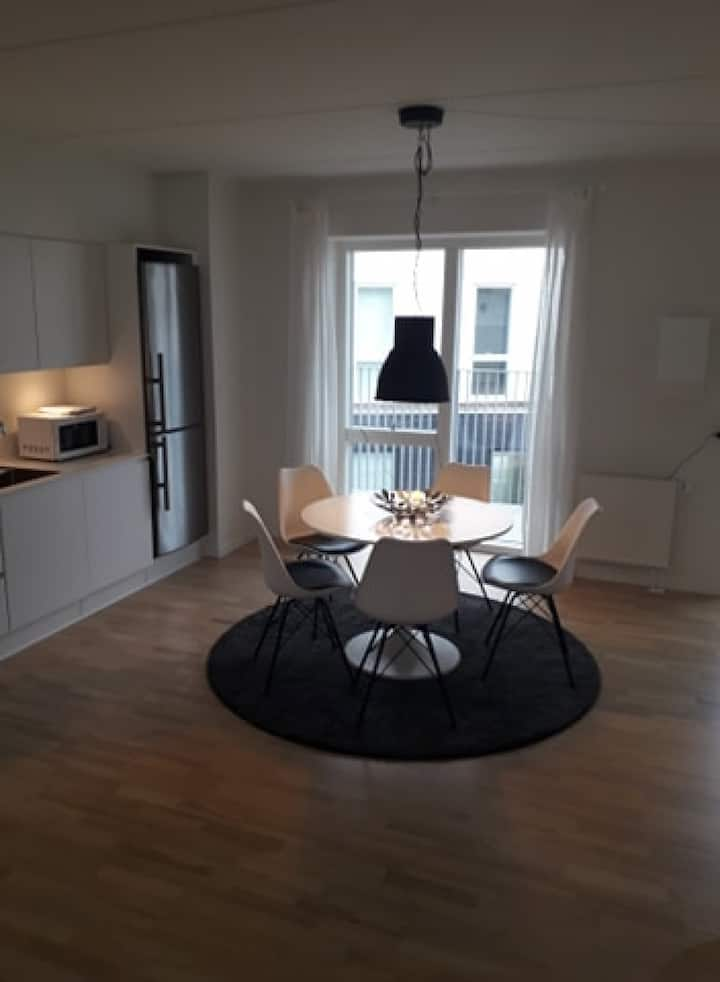 2 bedroom apartment with balcony in Valby