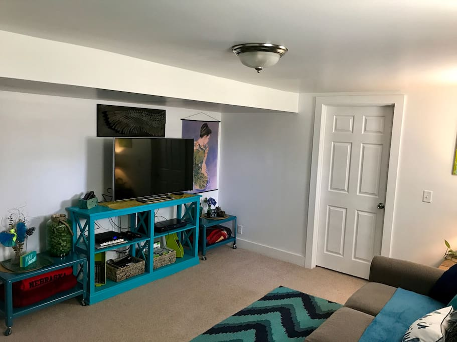 Television/Entertainment area