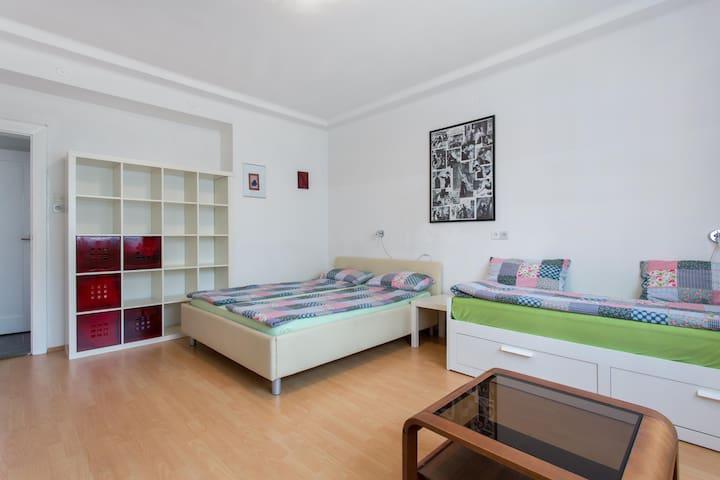 Quiet Apartment with Garden + Parking