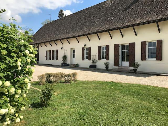 Longère rénovée à 5 min de Chalon - Allériot - Huis