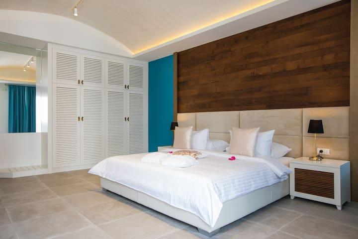 Turquoise - Deluxe Junior Suite with Terrace - Mlini - Gjeste suite