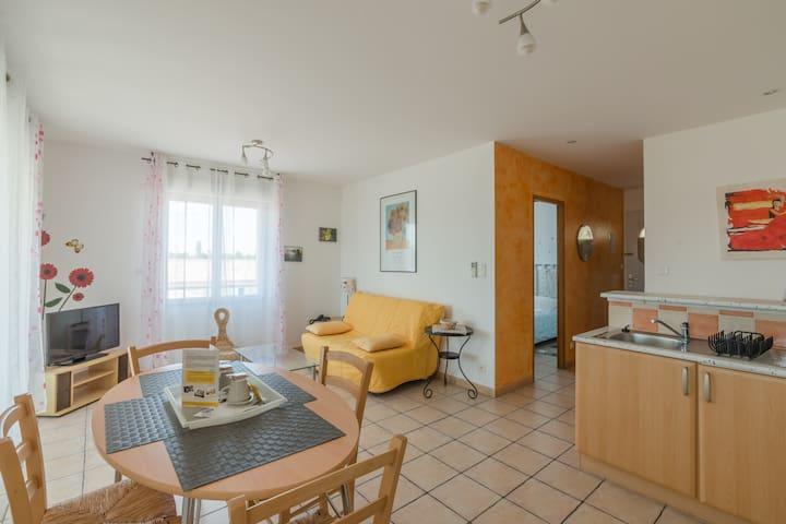 Joli  Appartement de 42m² dans Résidence Privée