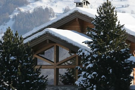 Luxury Spa apartment GL10 Ski in Ski Out - Haute-Nendaz - Chalet