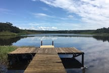 Old Florida Lake Escape
