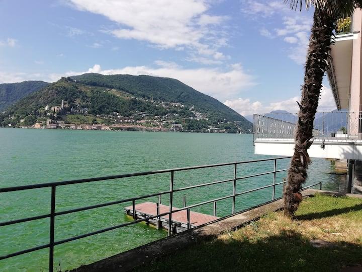 Appartamento Cecilia: relax sul lago