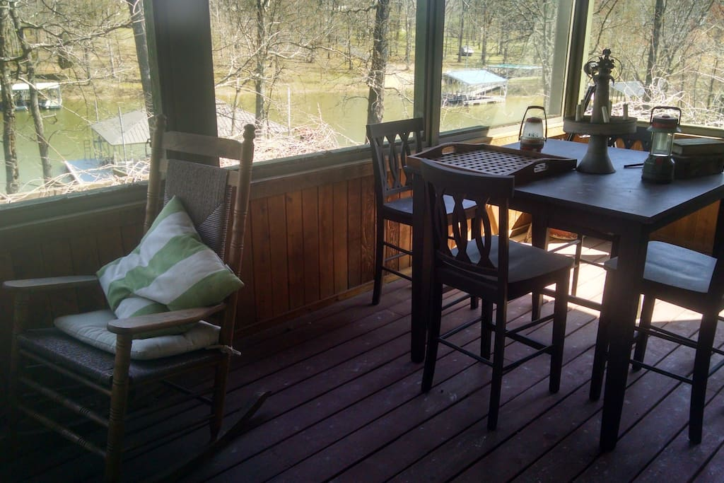 Screened In Porch - Main Level
