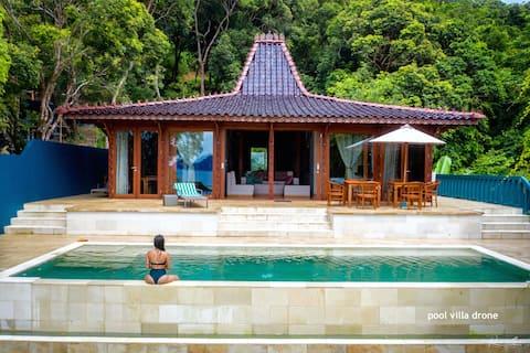 Karuna 2 Bedroom Private Pool Villa -オーシャンビュー