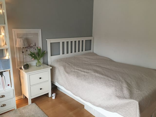 Cozy flat next to the Alster, central and quiet