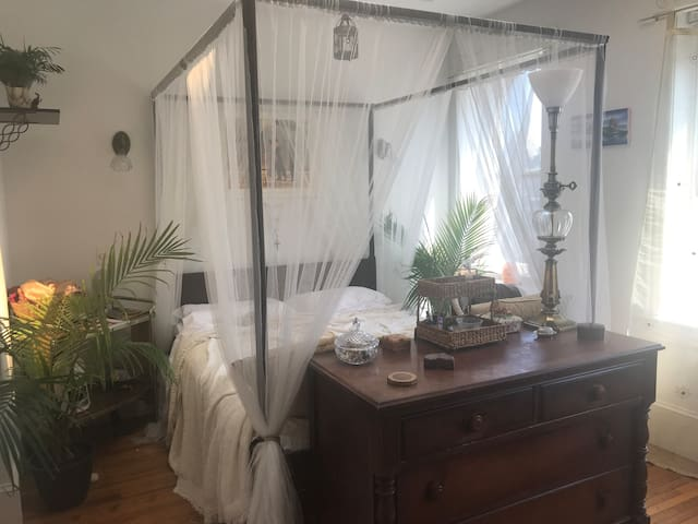 Beautiful room in historic U Street rowhouse