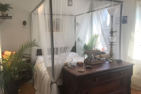 Beautiful room in historic U Street rowhouse