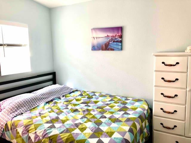 Bedroom 1 - Queen bed with memory foam mattress