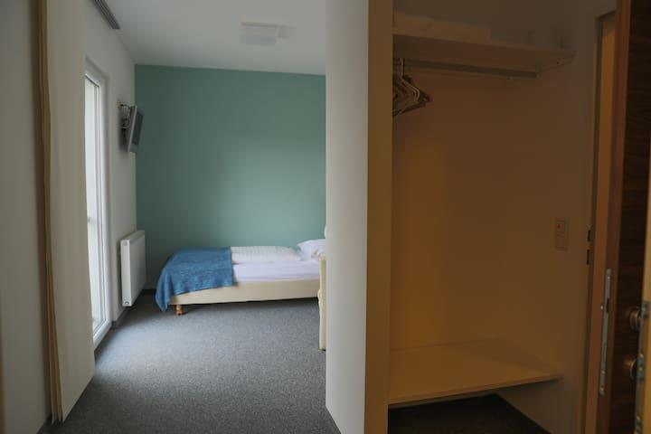 Amethysthotel Mantler Einzelzimmer