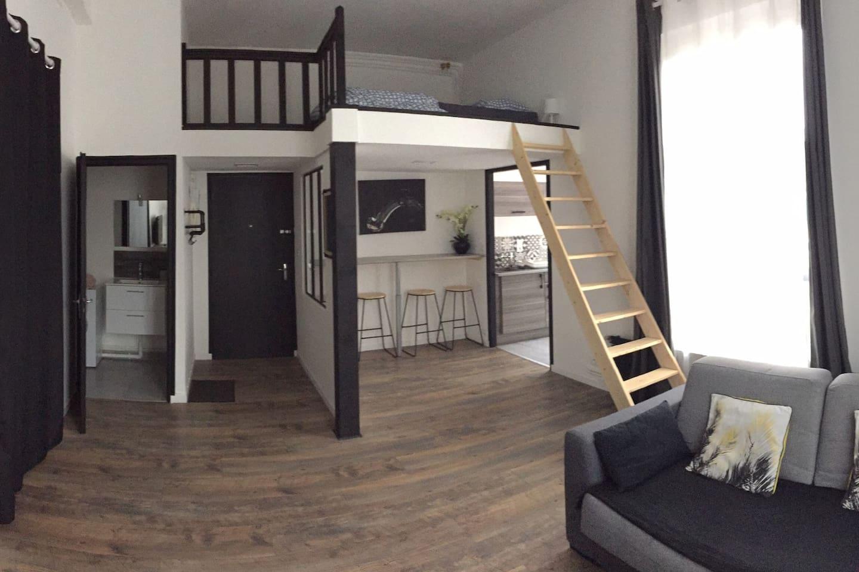 Appartement cosy tous confort refait à neuf.