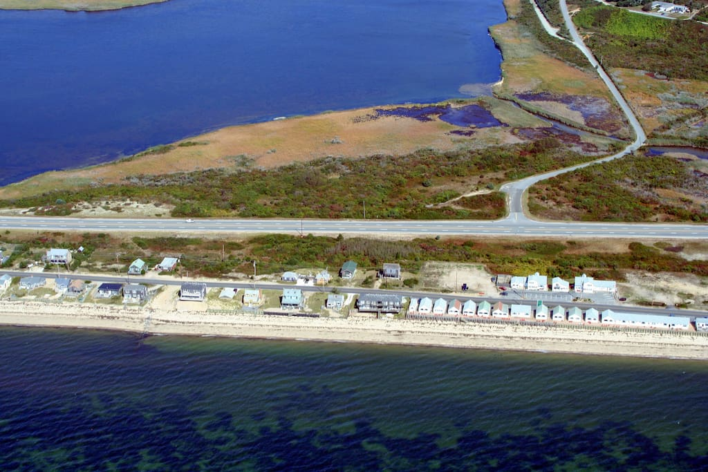 Make the short walk to the bay beach or take a short drive to the stunning National Seashore beaches.