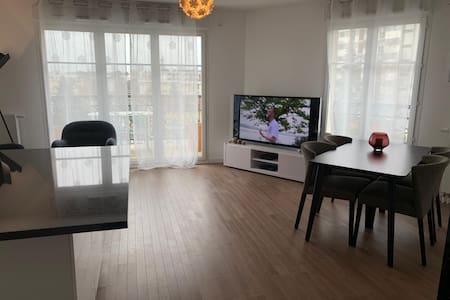 Bel Appartement 3P. NEUF 61m2 Proche Paris