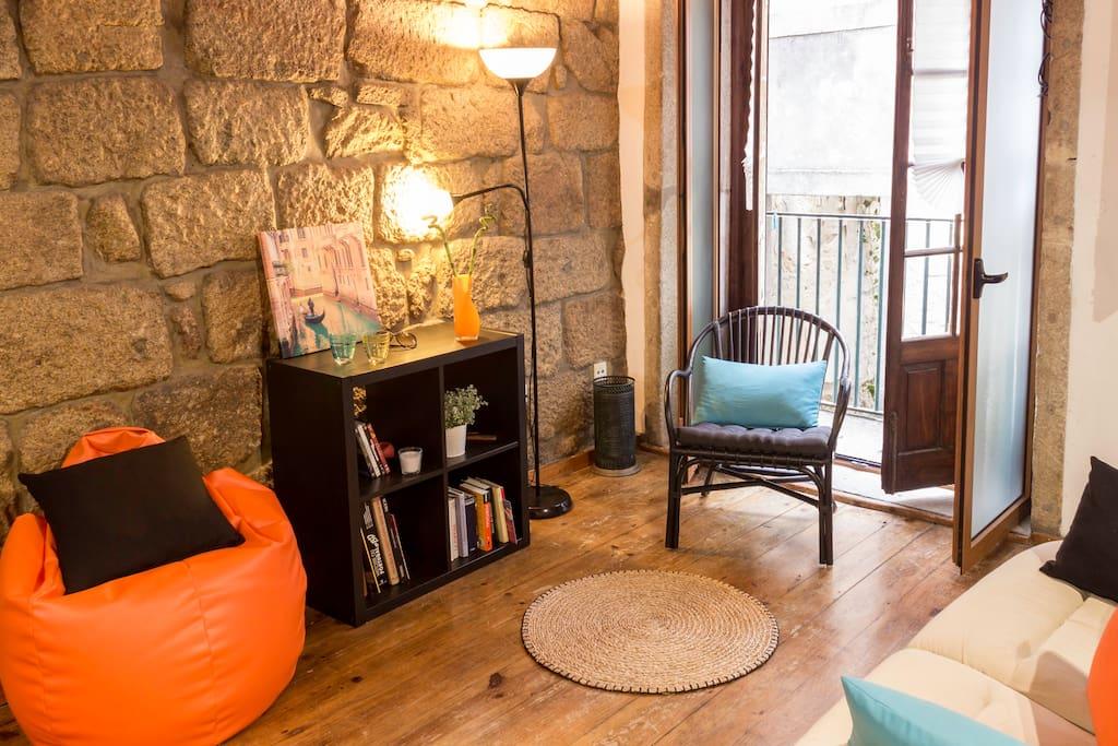 Salon chambre / Bedroom sofa / Sofa Quarto