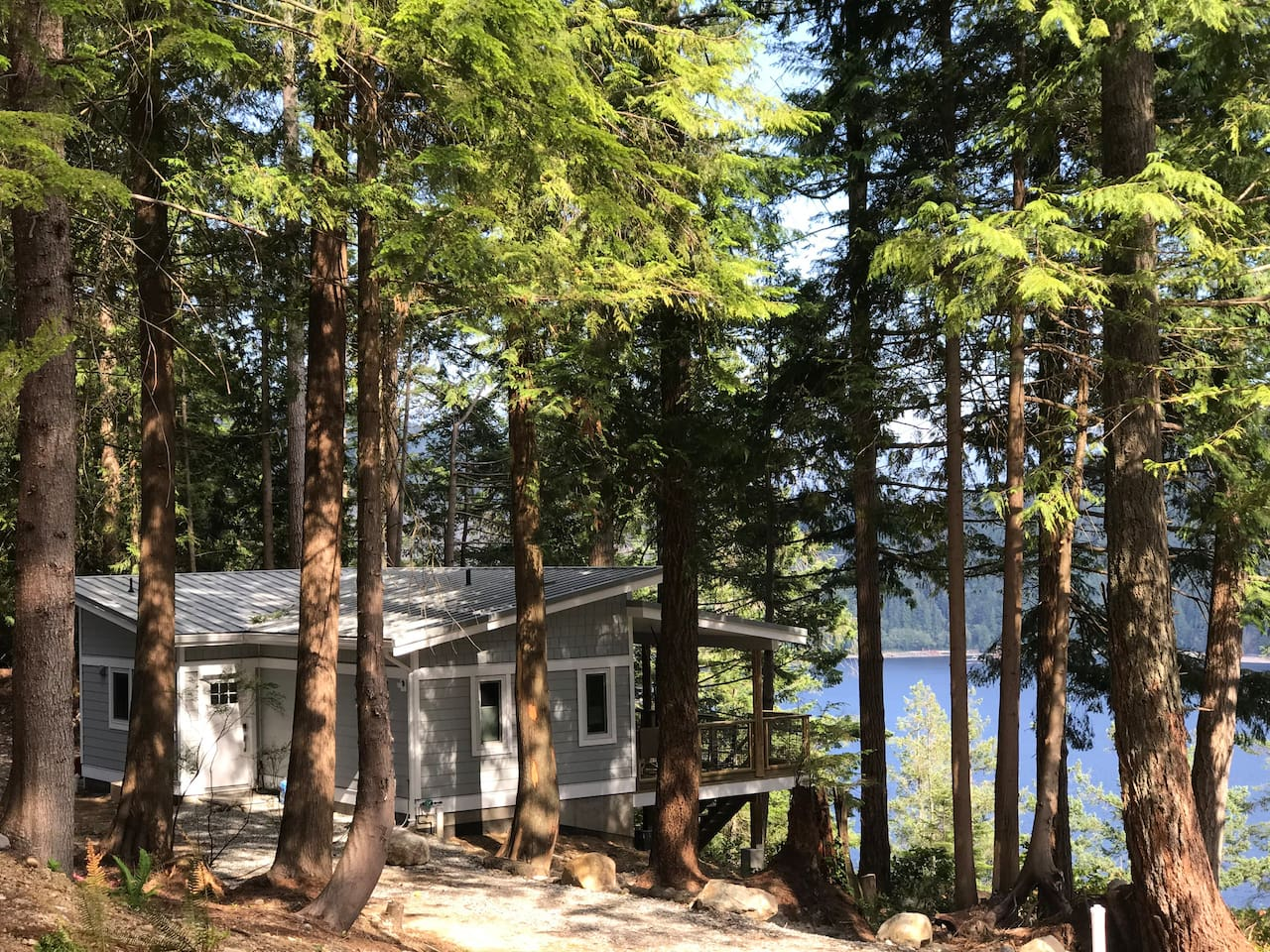 Retreat to your very own cabin in the woods