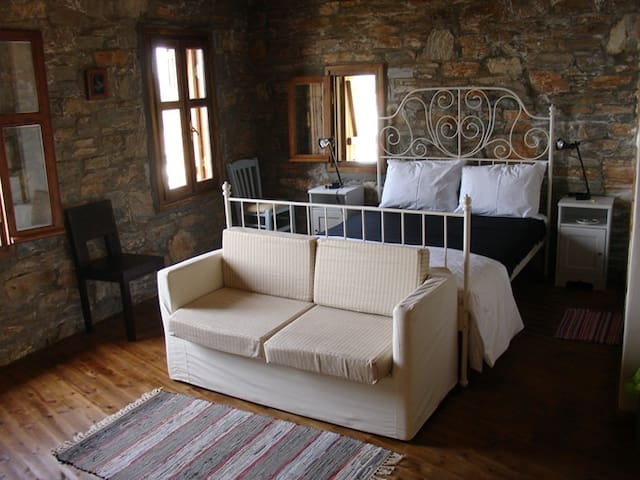 Kavos suite at Pyrgos traditional village