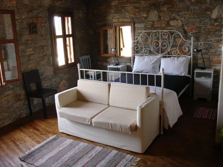Kavos suite at Pyrgos traditional village