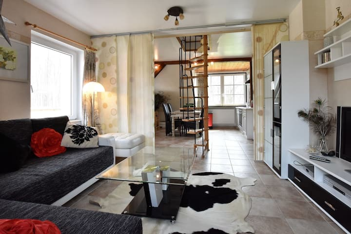Quaint Apartment in Kastahn with Terrace