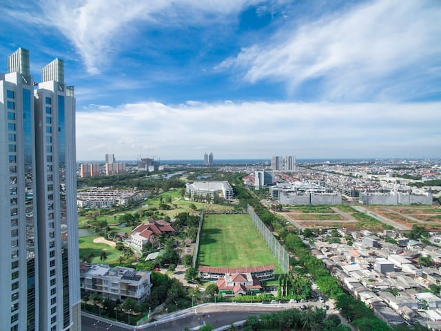 The mansion apartement kemayoran 2 BD Bougenville