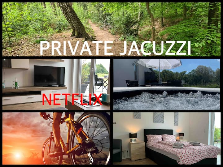 LUXE/BOS APPARTEMENT OUTSIDE JACUZZI.