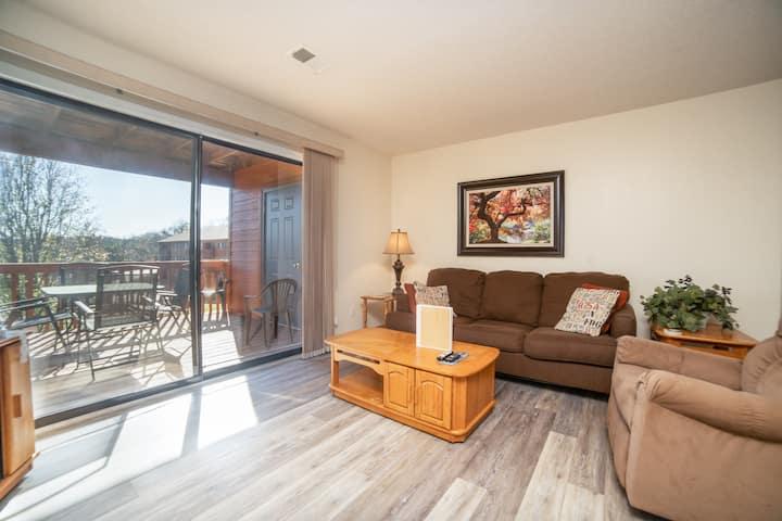 2 Bedroom, 2 Bath Condo with Covered Balcony