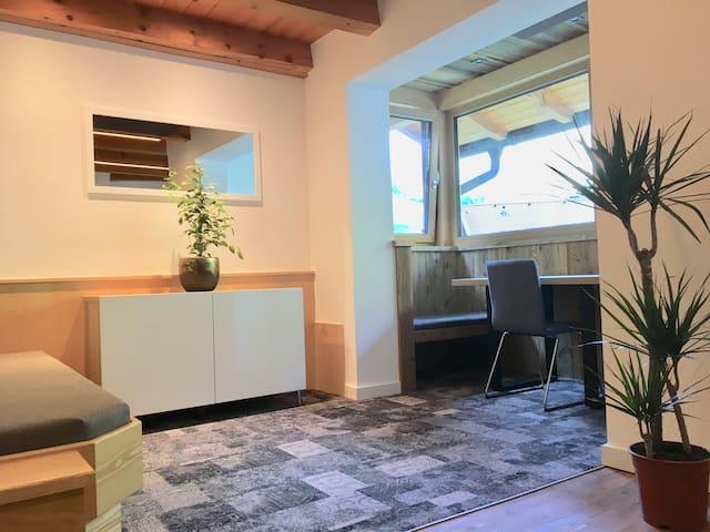 Komfortable Ferienwohnung mit Panoramablick