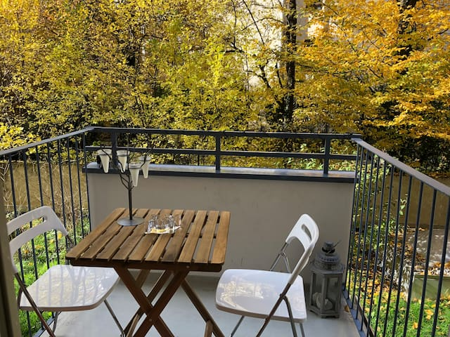 Romantic Nestle studio in the heart of Munich