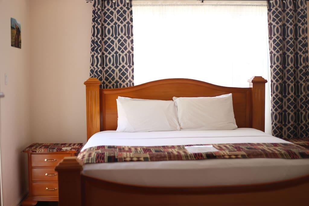 King Size bed, top floor