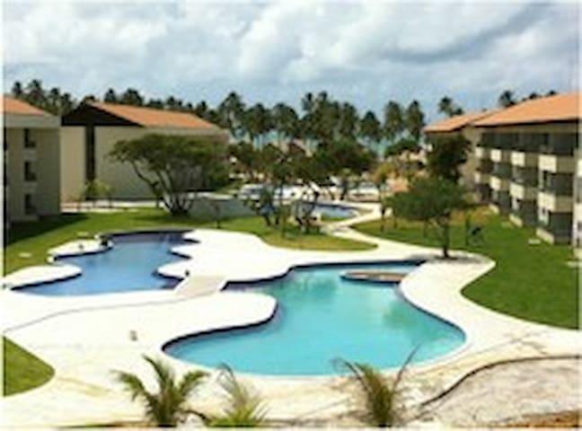 Flat located Beach - Carneiros Beach Resort Brazil - Tamandaré - Apartemen