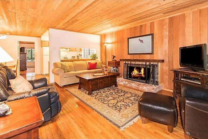 Cozy Ski Condo Near Hyatt |  1/2 Block to Lake