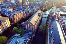 Rowntree Wharf from above