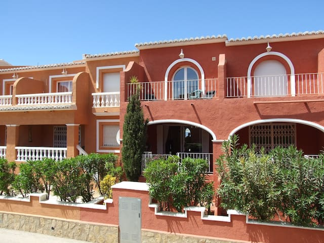 Moroccan style 2 bedroom home - Benitachell - Huis