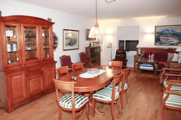 Vintage apartment in a great Akureyri location