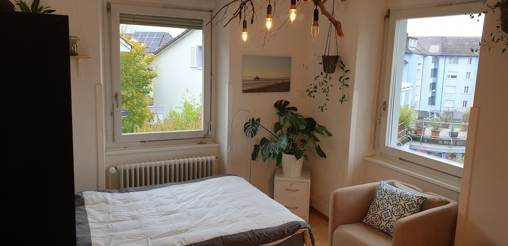 Furnished room in a big shared house