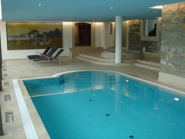 Luxurious apartment with 5* Spa - Château-d'Œx - Apartamento