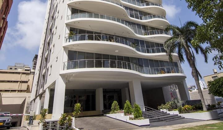 Apartamento tipo Loft en Club House Barranquilla