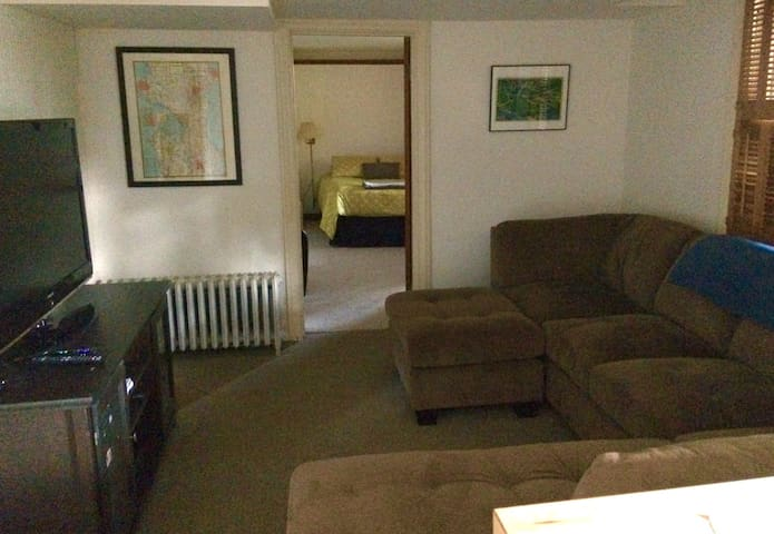 Private 1Bdr Apt Cap Hill / Parking / Kitchenette