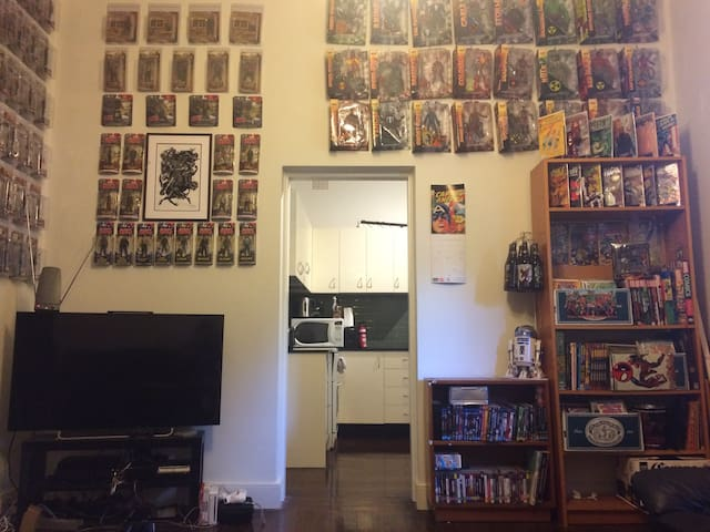 The Comic Pad - Burwood - Appartement