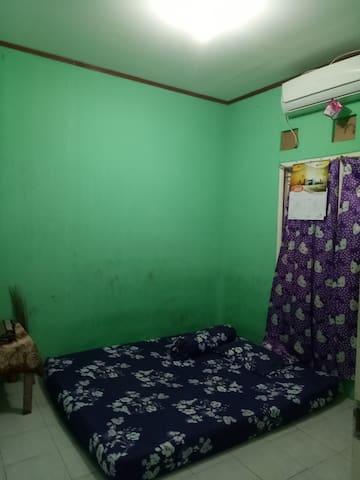 Rumah standar di puri nirwana 3. 1 kamar tidur
