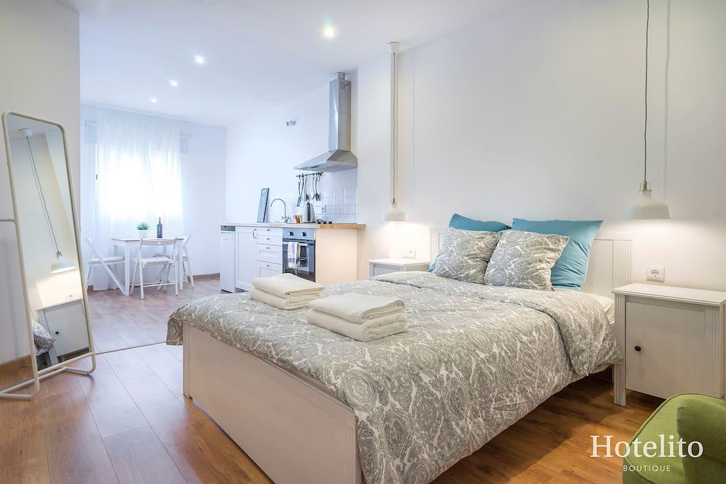 Super studio in collblanc 3 barcelona apartamentos en - Pisos en alquiler collblanc l hospitalet de llobregat ...