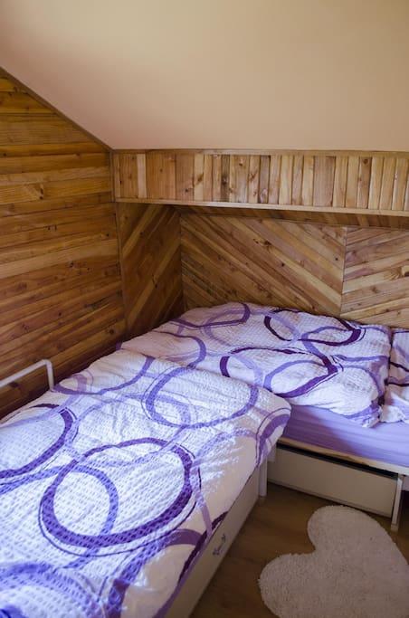 Malý pokoj 2 lůžka