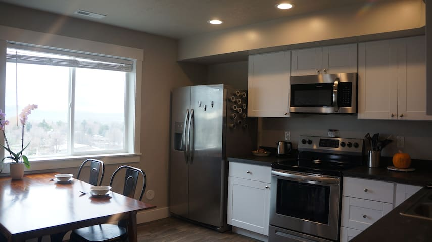 One Bedroom Logan Utah Apartment with a view