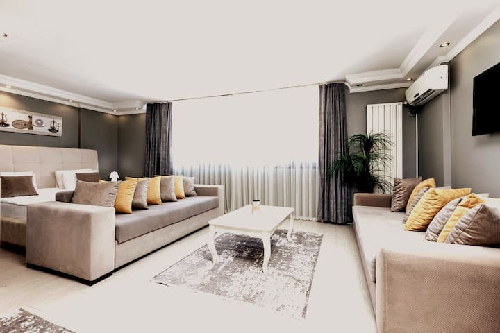 Modern and Large Studyo Flat in Galata