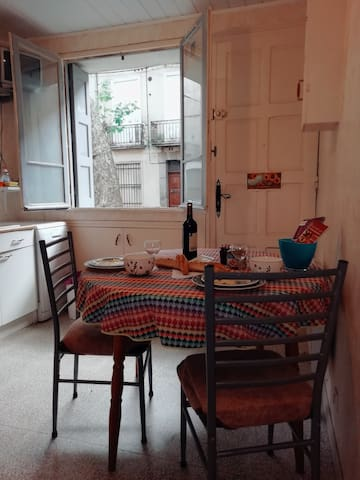 ChezJolly Rest & Relax. Ground floor flat in Ceret