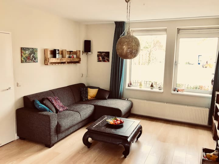 Familiewoning in Amsterdam, bij CS